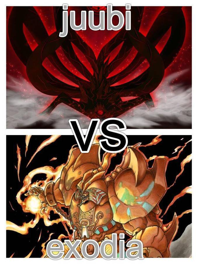 The Jubi vs Exodia that would be epic lol. Who would win?