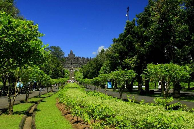 Grandiose Borobudur Temple - Indonesia