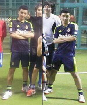 Do You Know ? Seungri Bigbang fanss Real Madrid . :D