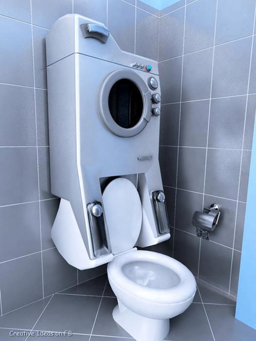 toilet dingabung dengan mesin cuci pasti nya wow banget ya jangan lupa klik wow nya !!