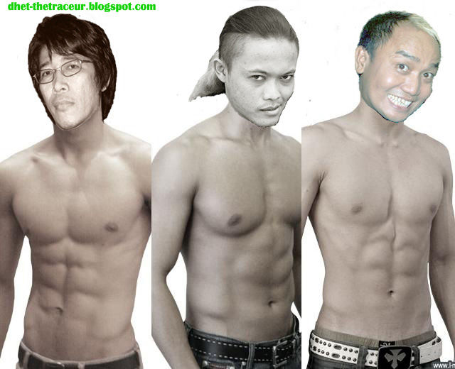 klik WOW maka parto sule and aziz masuk finalis L-MEN 2013