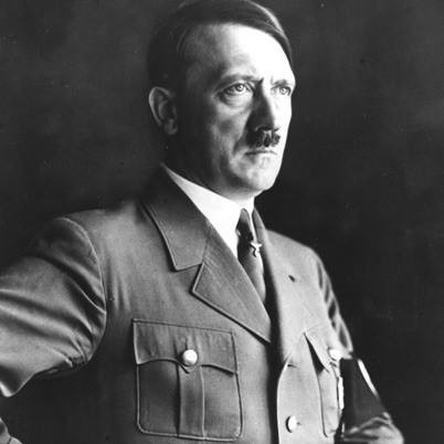 "NAME: Adolf Hitler OCCUPATION: Military Leader, Dictator BIRTH DATE: April 20, 1889 DEATH DATE: April 30, 1945 PLACE OF BIRTH: Braunau am Inn, Austria PLACE OF DEATH: Berlin, Germany Nickname: Der Führer (""The Leader"") Full Name: Adolf Hitler"