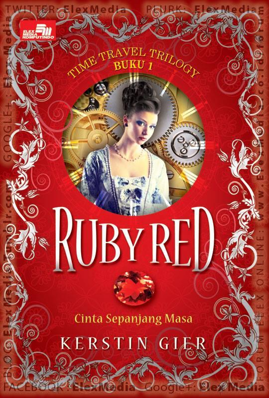 Tnp diduga, Gwendolyn yg di tengah jam pelajarannya tiba2 melompat ke zaman berbeda! Novel pertama trilogi perjalanan waktu! RUBY RED http://ow.ly/mfmVm Harga: Rp. 49.800 Goodreads 4.14/5* Amazon 4.3/5*
