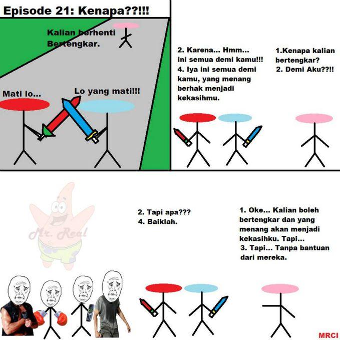 Comic Episode 21: Kenapa??!!!