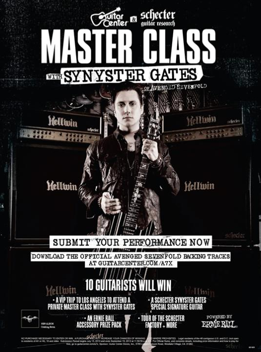 Revolver Magazines Interview With Synyster Gates (About Master Class, New Album, And More .. baca artikel di http://azee-vengenz.blogspot.com/2013/07/revolver-magazines-interview-with.html WOWnya dong .. !!