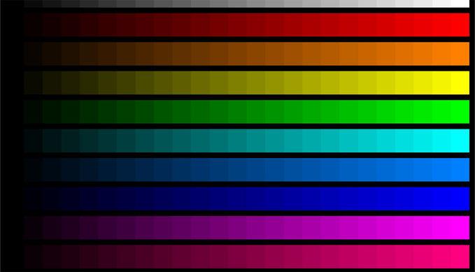 """"""" Warna-warna yang Bisa Bikin Otak Seger """""""