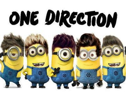 wowww,,one direction nya despicable me 2 ,woowww