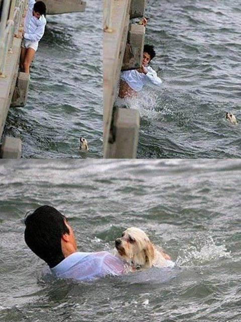 Respect!! That man is a HERO!!