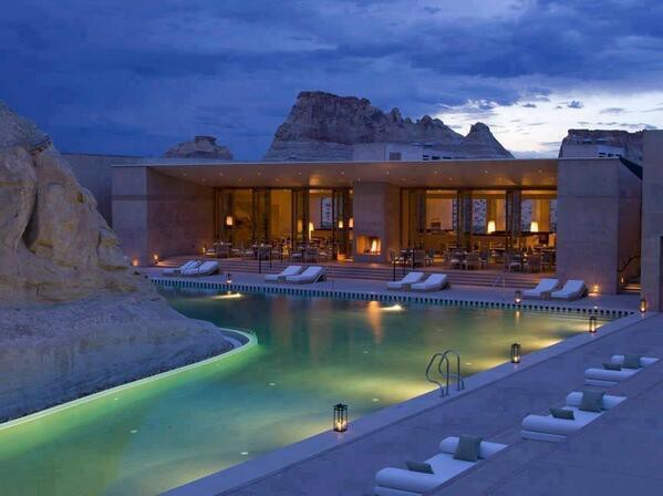 Amazing :D (Amangiri Resort, Utah, USA) .....