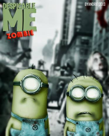 Dispicable Me Zombie :D