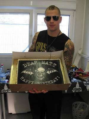"""H.B.D Matt Shadow We are your the best fans in the world We are always loving you â?ª#""""foREVerâ?¬"""