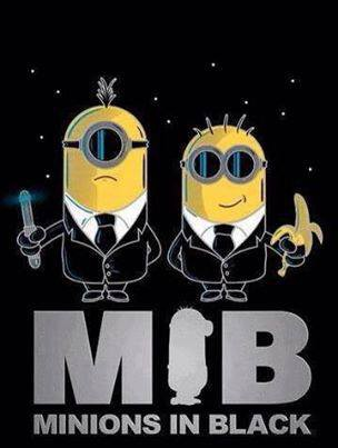 MIB - Minions In Black :D