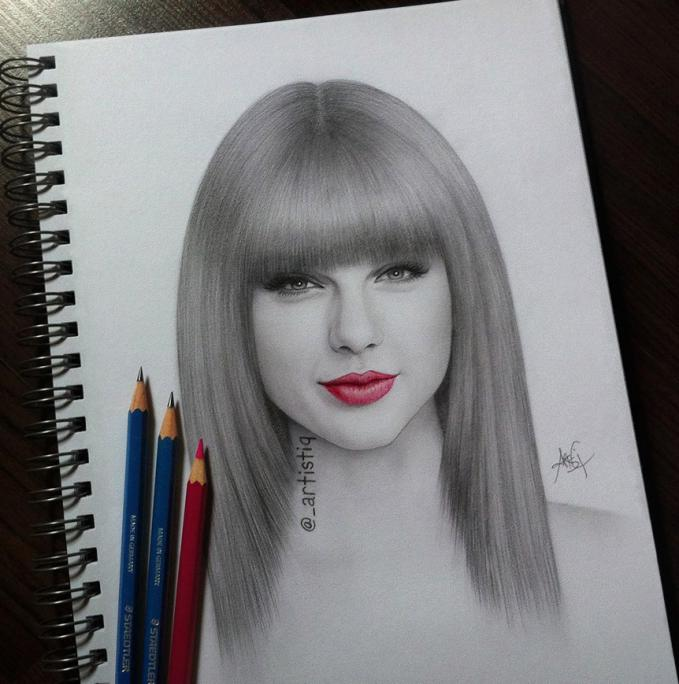 Taylor Swift Drawing. Lets say WOW for this!
