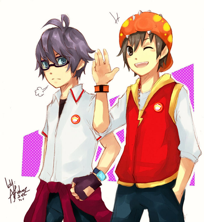 Another boboiboy and fang anime version wow plz :)