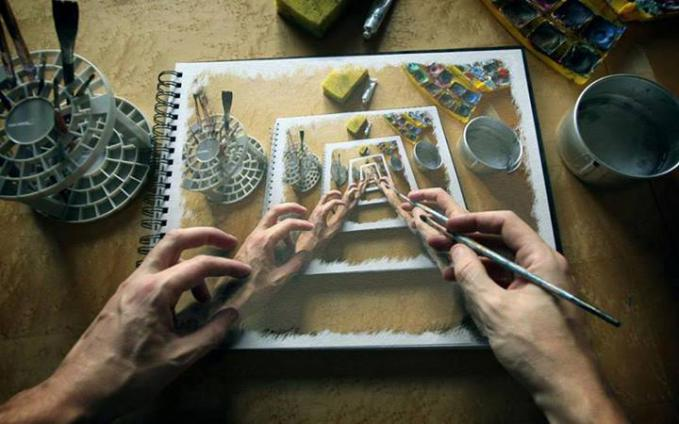 Amazing Hand drawing