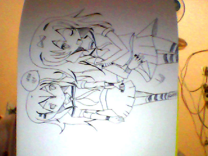 My Drawing! :D Please WoW-nya :3
