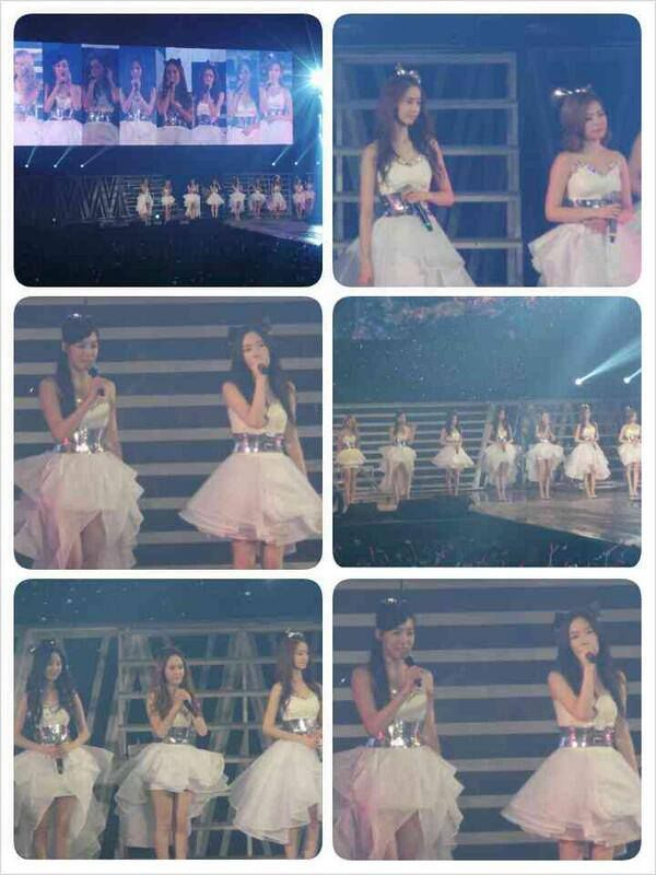 Promise with white dress!! #GGTourINA2013