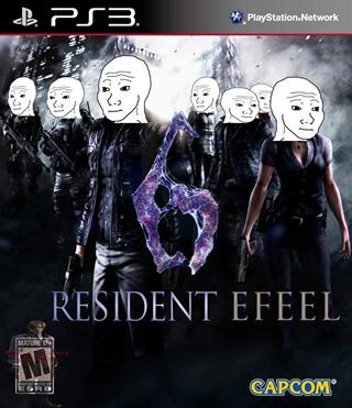 Resident efeel 6 : Not coming in PS3 coz too many feels ;_;