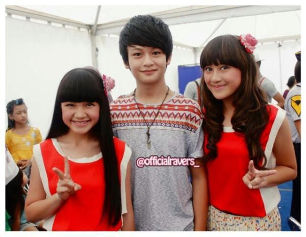Randy martin with bella and salsha winxs