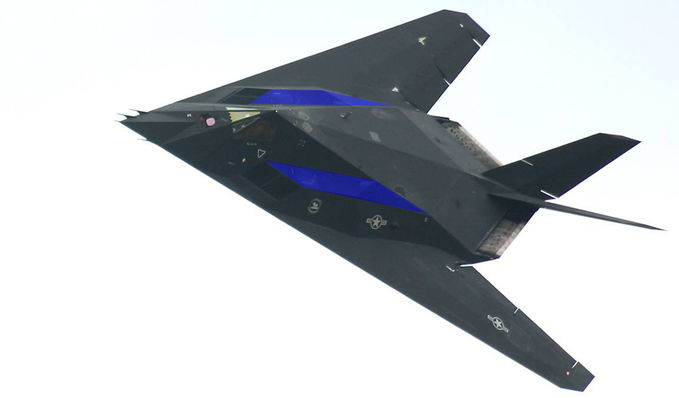 "real "" F-117 Nighthawk Stealth Fighter """
