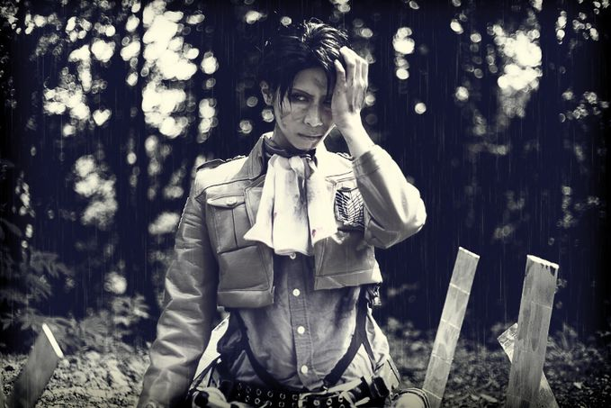 Levi   Rivaille (Shingeki no Kyojin) Cosplay by I3 Aimi Aimi Contact : http://www.cosp.jp/prof.aspx?id=187233 More Photos Visit here : http://cosplaymaniax.com/