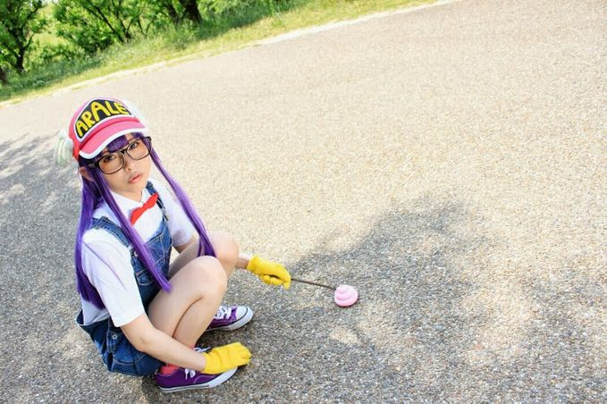 """Arale Norimaki (Dr.Slump) Cosplay by Rinto Tocchi Rinto Tocchi Profile : http://cosplaymaniax.com/cosplay/""""-rinto-tocchi/ More Photos : http://cosplaymaniax.blogspot.com/ Visit here : https://www.facebook.com/cosplaymaniax?ref=br_tf"""