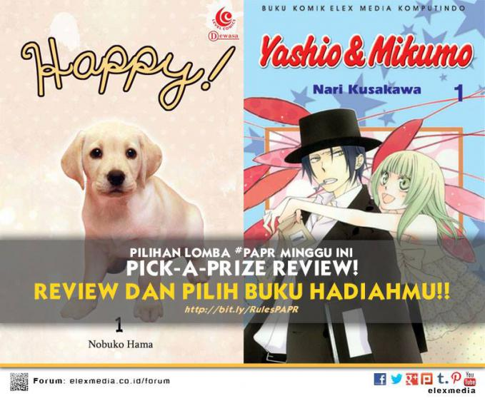 #LombaReview PickAPrizeReview: HAPPY http://ow.ly/qxmHE LABIRIN CINTA http://ow.ly/qlM3f *Cara 1. Register http://bit.ly/LXORegs 2. Simak http://bit.ly/RulesPAPR