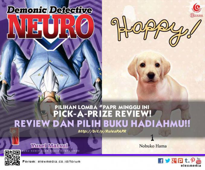 #LombaReview #PAPR minggu ini: DEMONIC DETECTIVE NEURO http://ow.ly/qxmHE HAPPY http://ow.ly/qxmHE Cara: 1. Register http://bit.ly/LXORegs 2. Aturan http://bit.ly/RulesPAPR