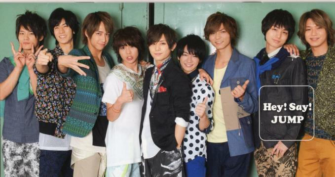 Hey!Say!JUMP Come On A My House :)