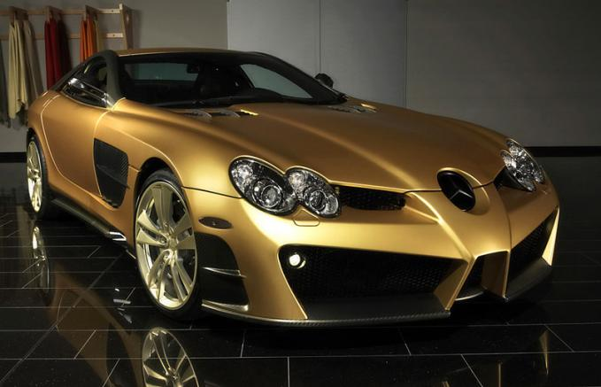 2008 Mercedes-Benz SLR McLaren Mansory Renovatio