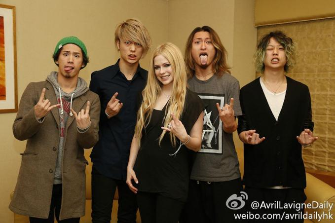 Avril Lavigne with One OK Rock