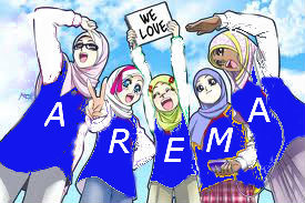 we love arema ,,, we do...by aremanita sholihah