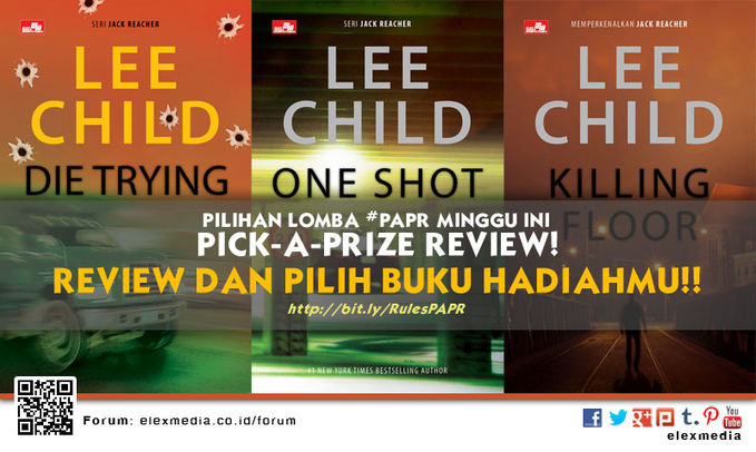 #LombaReview PICKAPRIZEREVIEW minggu ini JACK REACHER http://ow.ly/tVjTO HIGH SCHOOL DEBUT http://ow.ly/tJ9RQ *Cara: 1. Reg http://bit.ly/LXORegs 2. Rule #PAPR http://bit.ly/RulesPAPR