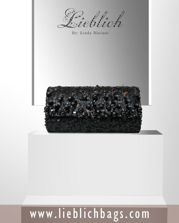 LIEBLICH LC08 BLACKSEQUIN CODE : LIEBLICH_LC08_BLACKSEQUIN -BLACK SEQUINS MATERIAL -BLACK BEADING SIZE : 18 X 9(CM) #Bags #Wallet #ShoulderBags #TotesBags #ClutchBags #StyleFashion #HandmadeBags see more: http://lieblichbags.com/products-page/clutch-bags/lieblich-lc08-blacksequin