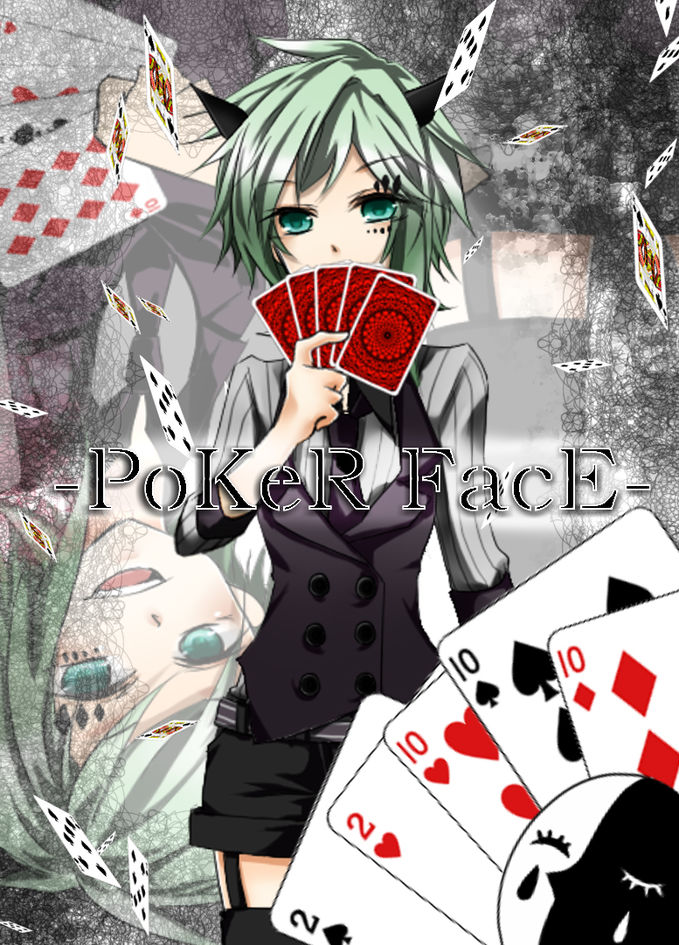 Gumi Megpoid (Vocaloid //notAnime-_-) in poker face ;) ngaku sobat pulsk? join in the grup!!! -> https://www.facebook.com/groups/270565743109083/?bookm