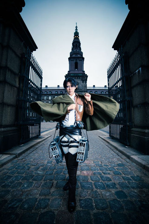 Levi - Attack on Titan source by REIKA #cosplay