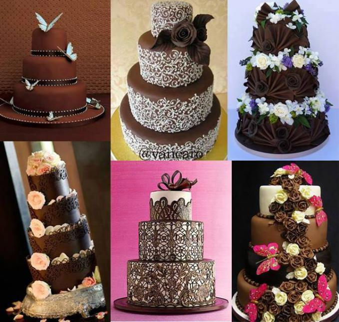 Which one is your favourite wedding cake ? :D