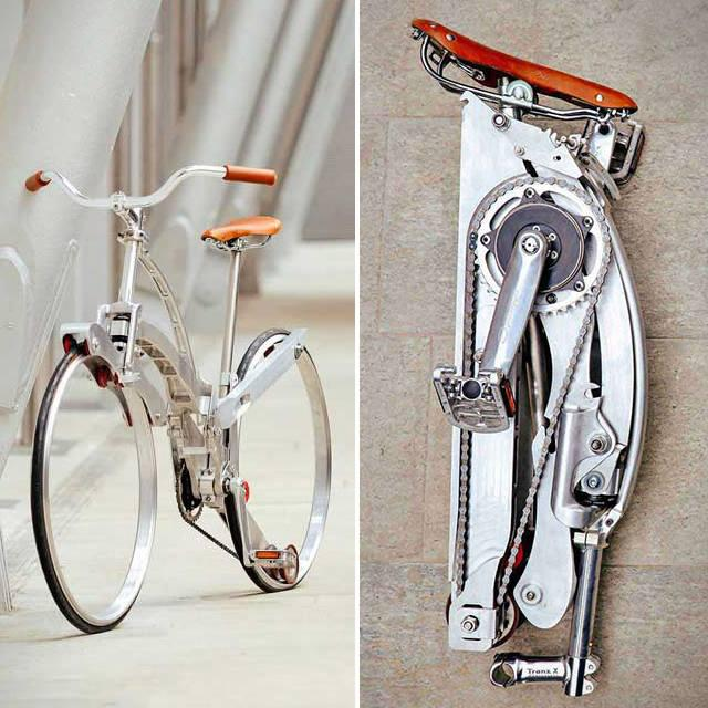 Collapsible Bicycle from Sada