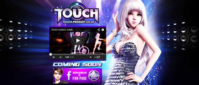 "Coming Soon! New Game : ""TOUCH"" MMORPG 3D Casual-Musical-Dance. #K-Pop #Dance #Sexy #Idol #Anime #Teen #Sports Trailer video via youtube : http://www.youtube.com/watch?v=HevGEaZxhKM . Wow! Siap main bareng temen2 Audition Ayodance nih!"