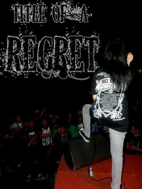 TITLE OF A REGRET (Y)