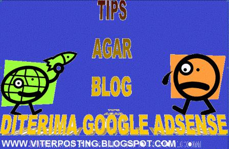 How to pass in order to be accepted Google AdSense