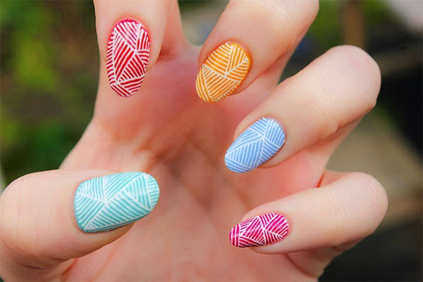 beautiful nail art designs for girls http://www.creativehozz.com/2014/06/20-more-nail-art-designs-ideas-and.html