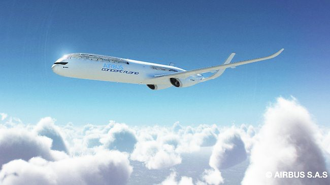Ini dia! Concept Plane THE FUTURE by Airbusâ?¢ keren yah! ^^