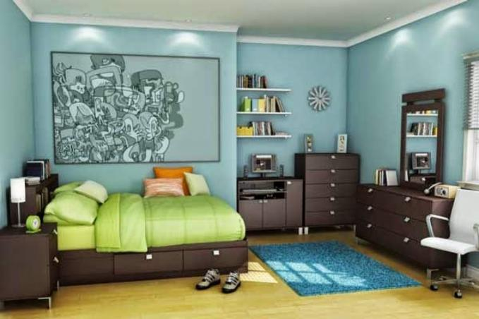 How To Make Colorful Kids Bedroom Furniture