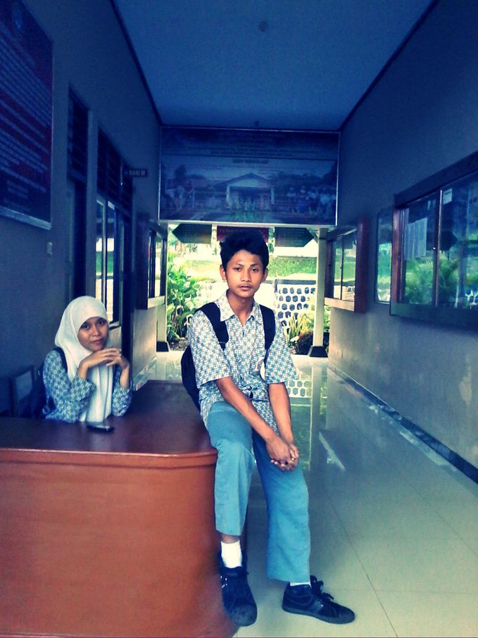 me and my best friend (hafidz)