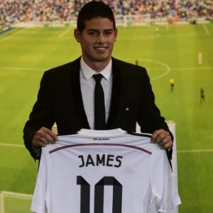 James Rodriguez ke Real Madrid
