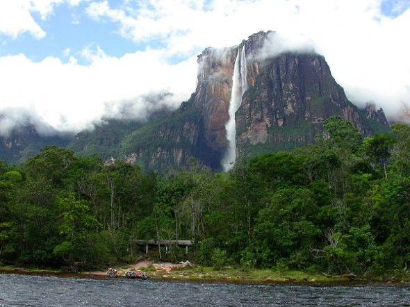 Indahnya Angel Falls (air terjun malaikat) di Venezuela ^^ #Subhanallah #Beautiful #Nature
