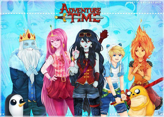 Adventure Time Anime - Land Of Ooo