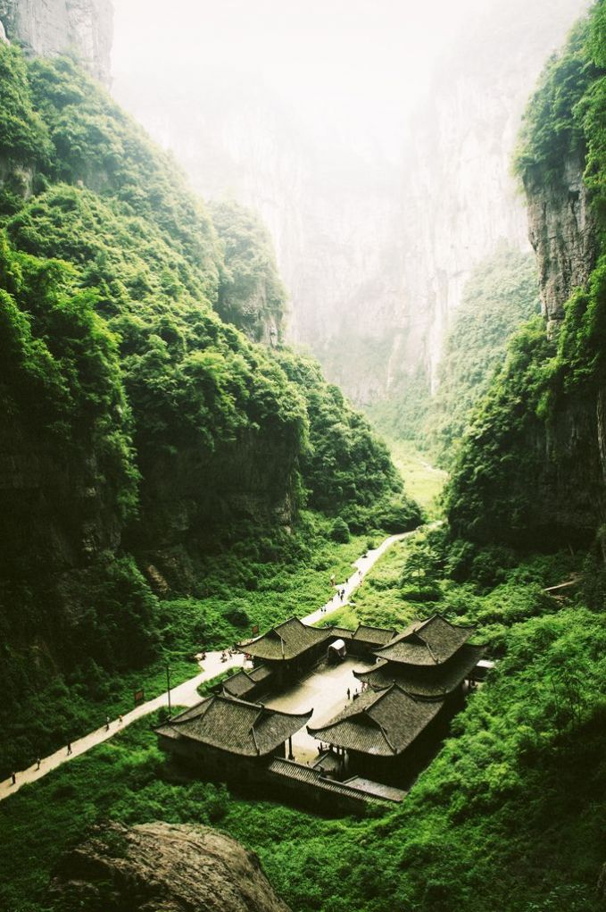 Chungking, Wulong. China