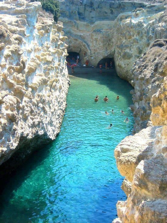 Hidden Beach in Greece